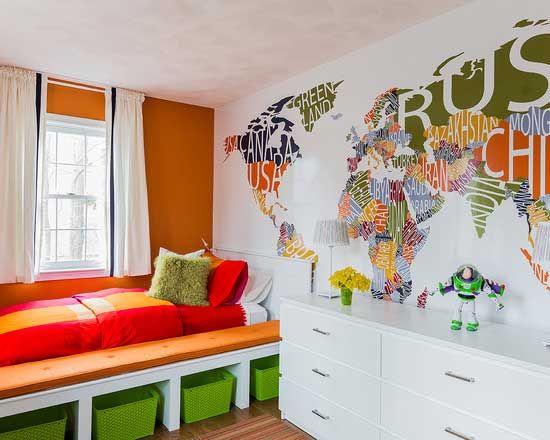 DDekor-Çocuk Odaları Duvar Dekorasyonu-5