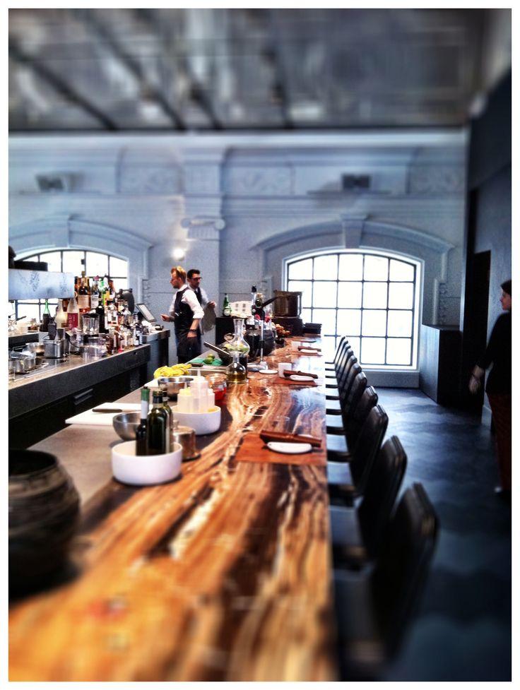 Restaurant The Jane, by Sergio Herman Paradeplein 1, Antwerp.