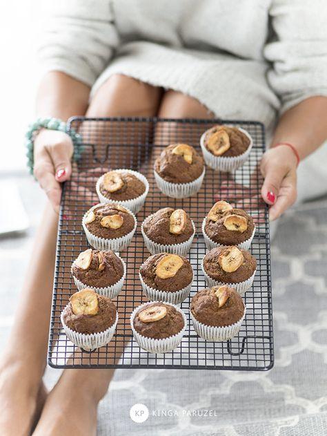 Najlepsze muffinki bananowe - Ale Babka!!! i robi to co lubi:)