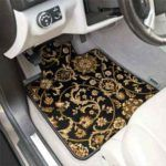 GGBAILEY Oriental Car Couture™ Luxury Car Mats are offered in two different designs of high-quality, Black or Red woven polypropylene 70oz carpet. You cannot buy these anywhere else. These custom fit mats are both luxurious and durable. All mats include the highest quality OEM standard anti-slip automotive backing and are equipped with our patented anchoring system or factory compatible mat anchoring devices.