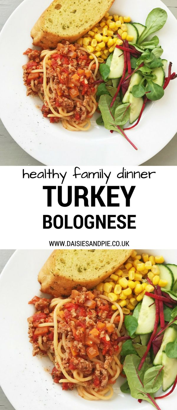 Give spaghetti bolognese a healthy make over with our delicious low fat turkey bolognese recipe, easy family dinner recipe