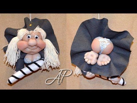 """Кукла-попик """"Гаишница"""" — Яндекс.Видео"""