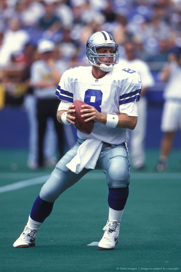 Troy Aikman 3 superbowls  32,942 yards 165 TD's  141 INT 6 probowls  81.6 QB rating 12 years played