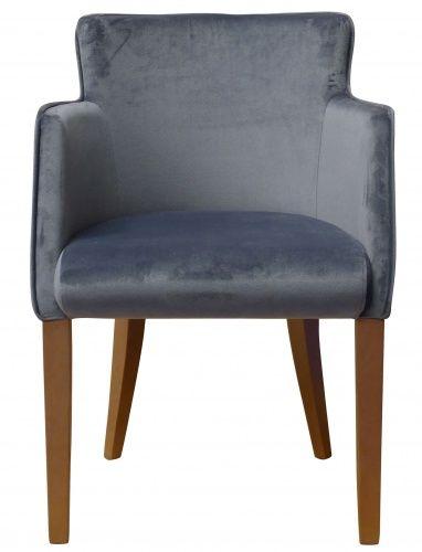 Another fab customer order! Our Torino chair in Warwick Fabrics Mystere Slate! #chair #bespoke #interiordesign #warwickfabric #slate #tubchair