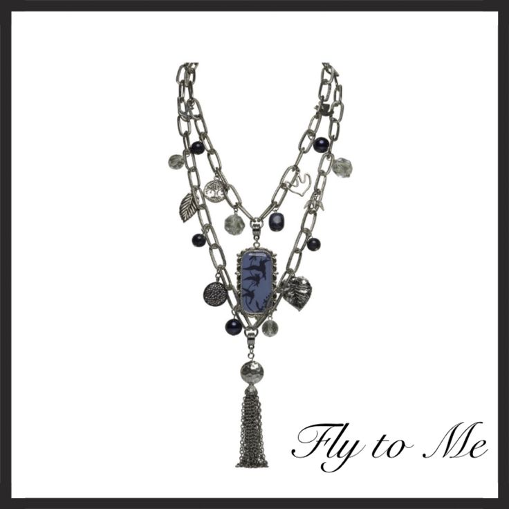 Fly to Me Limited edition necklace.