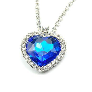 Titanic+Ocean+Blue+Love+Pendant+Necklace+–+USD+$+6.59