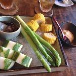 福笑 - 料理写真:恵比寿の「福笑」 野菜がみずみずしくて美味いねぇ‼