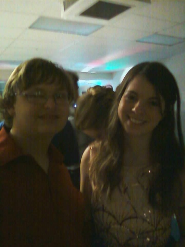 Me and Amanda Adams at homecoming
