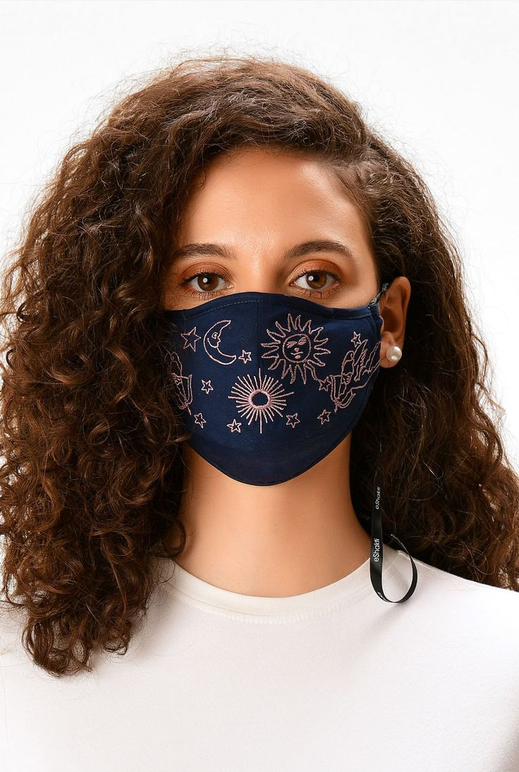 Embroidery On Clothes, Embroidered Clothes, Diy Embroidery, Diy Mask, Diy Face Mask, Face Masks, Pocket Pattern, Fashion Face Mask, Mask For Kids