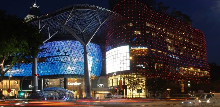 info on orchard road (shopping)