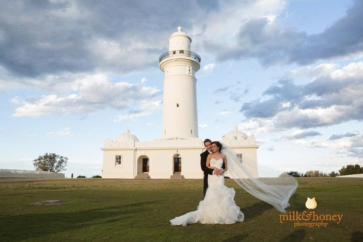 The beautiful Mel and handsome Brett! Photos by Anni Payne and Matthew D Duchesne, Milk & Honey Photography, in Watsons Bay