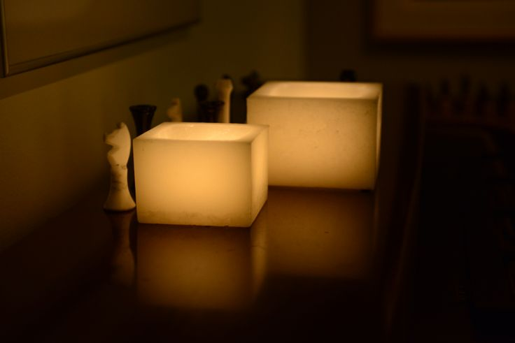 7 best wax luminaries square images on pinterest battery for Reusable luminaries