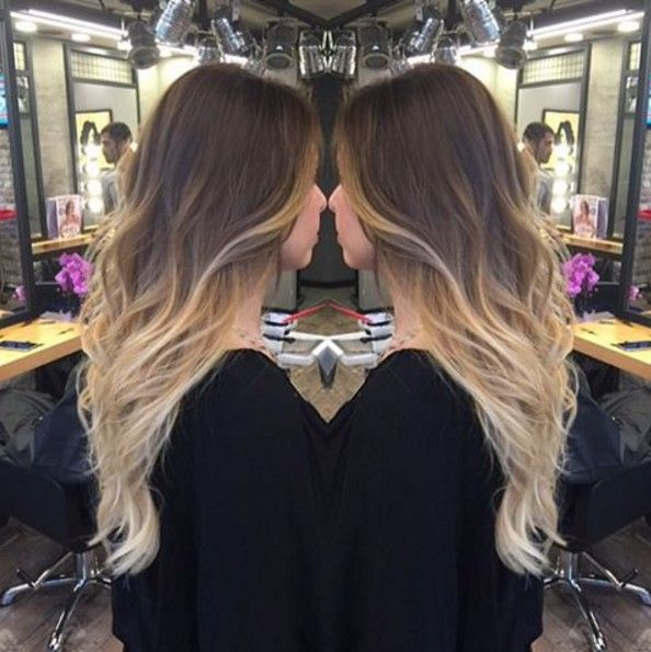 Dark Brown To Blonde Ombre Color Http Wadewisdom Tumblr Com