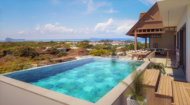 Achetez un penthouse de luxe dans un cadre de vie exceptionnel à l'Ile Maurice avec Mythic Grand Gaube.