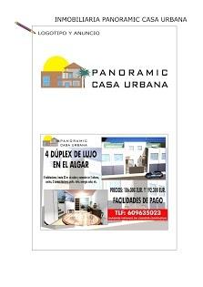 #Logo y anuncio Panoramic Casa Urbana