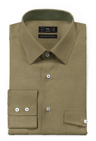 Green 100% cotton Shirt: http://www.tailor4less.com/en-us/men/shirts/3130-green-100-cotton-shirt