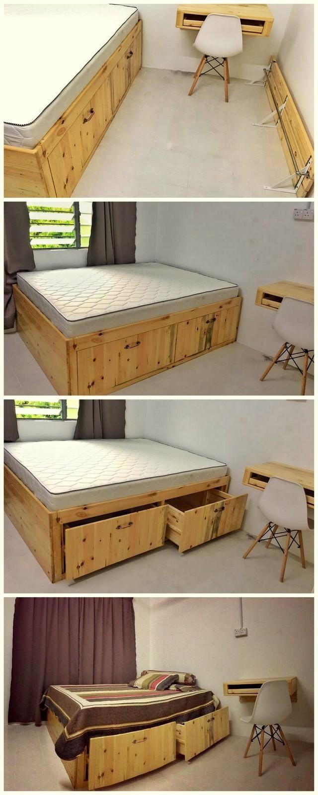 pallet bedroom furniture. 20  DIY Pallet Wood Furniture Ideas Best 25 bedroom furniture ideas on Pinterest Pallets