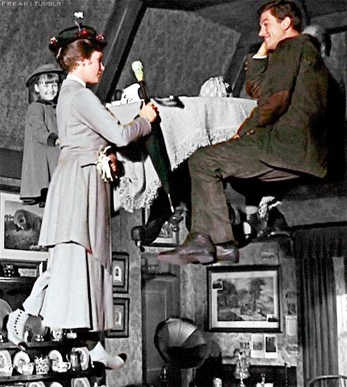 *JANE BANK's, MARY & BERT ~ Mary Poppins, 1964