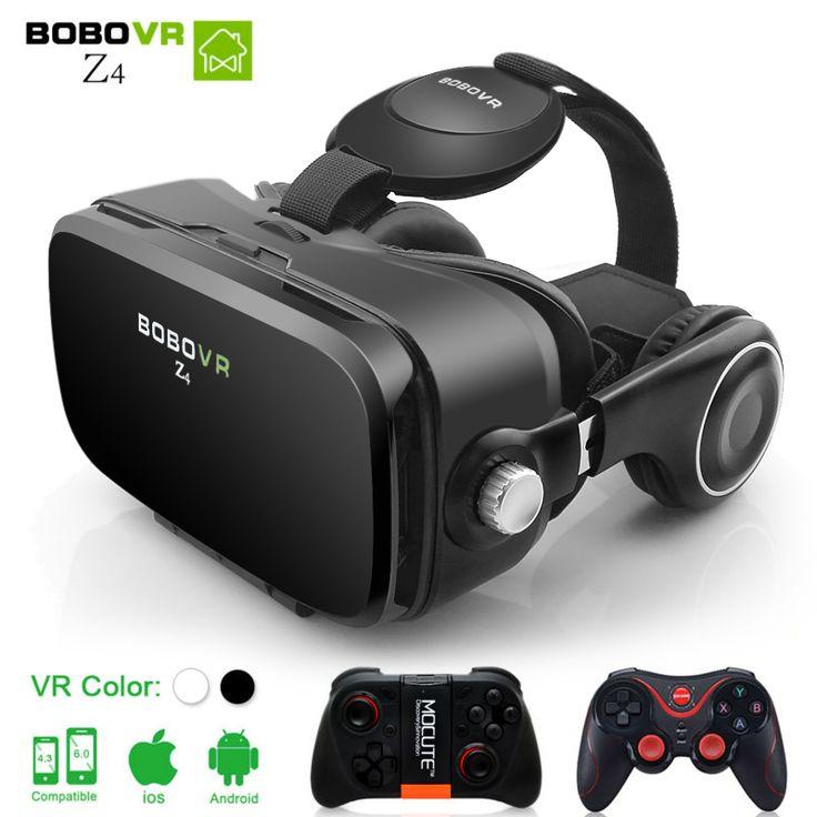VR BOBOVR Z4 mini BOX 2.0 3D Glasses Virtual Reality goggles google cardboard BOBO VR Headphone for 4.3-6.0 inch smartphones //Price: $15.9 & FREE Shipping //     #VR