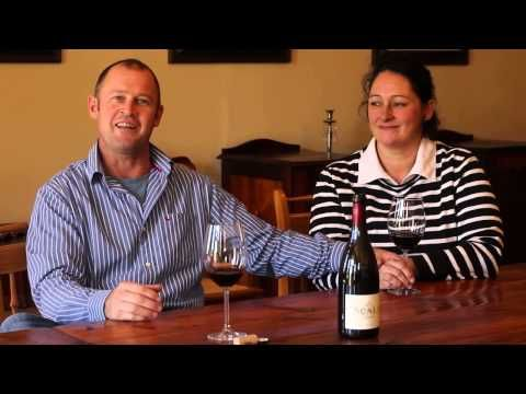 Meet Willie and Tania De Waal from Scali Wines. They are grape growers that became winemakers. Boucheron Wines stocks their Syrah 2005.