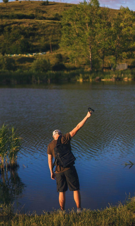 Men's Lifestyle / Lake Photoshoots / Model Men