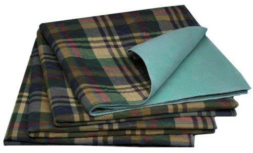 Sofnit 300 Washable Underpads, 34x36 in. Tartan Plaid, Absorbency 30 oz., Pack of 4 by Medline. $72.49. Features tartan plaid top fabric! Tried and true, the Sofnit 300 is designed to last. The Canadian Ibex face fabric is durable and soft. The Medline jacquard knit barrier provides a non-slip surface so the pads stay in place on the bed. With a durability of 300 washings, the Sofnit 300 is one of the lowest cost per use underpads available.