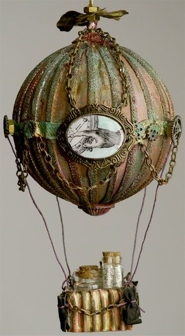 17 best images about hot air balloons on pinterest for Steampunk arts and crafts