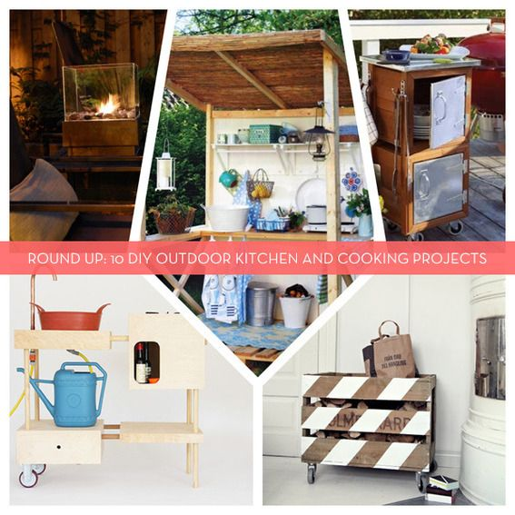 1000 Ideas About Simple Outdoor Kitchen On Pinterest: Best 25+ Diy Outdoor Kitchen Ideas On Pinterest
