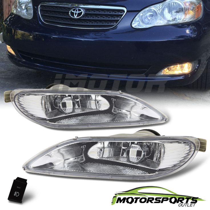 Awesome Great 2002-2004 Toyota Camry/2005-2008 Corolla Bumper Fog Lights+Switch  2017 2018