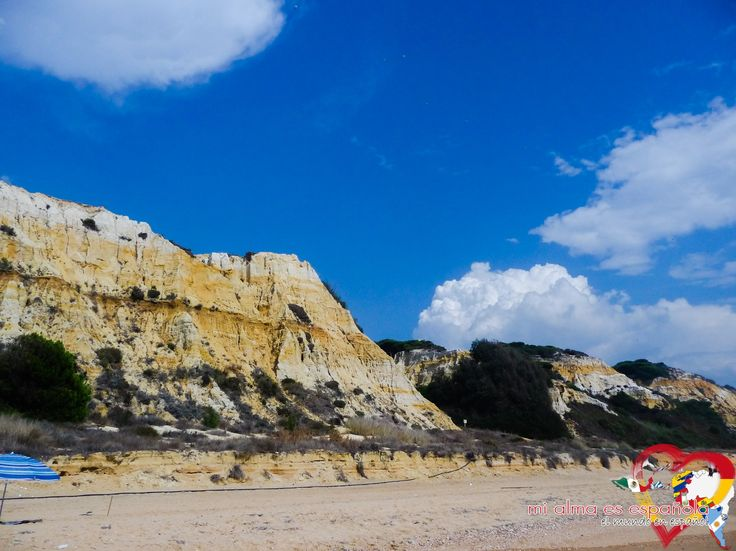 Playa de Rompeculos. Andalucía, España. #travel #daytrip #sun #summer #beach #geology #Spain