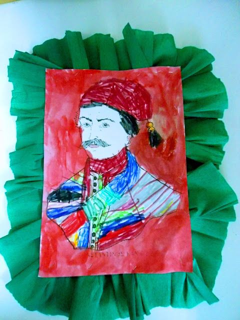 Τα μικιά μου , arts kindergarten: 25 Μαρτίου