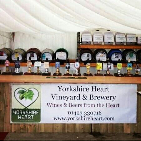 Hearty Festival. Our beer and music festival at Yorkshire Heart vineyard.