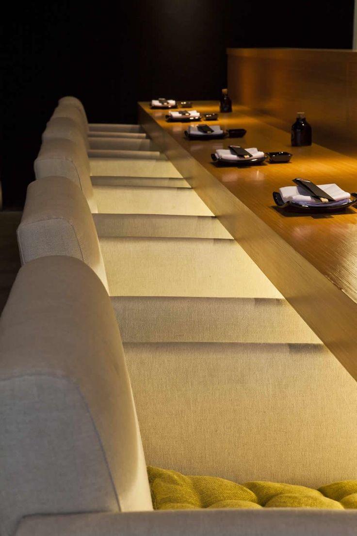 Restaurante Toro Sushi  Naoki Otake Arquitetura + Design
