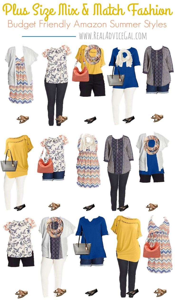 Affordable and awesome plus size summer styles