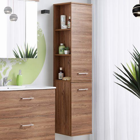 Photo Image Monahans x cm Free Standing Tall Bathroom Cabinet