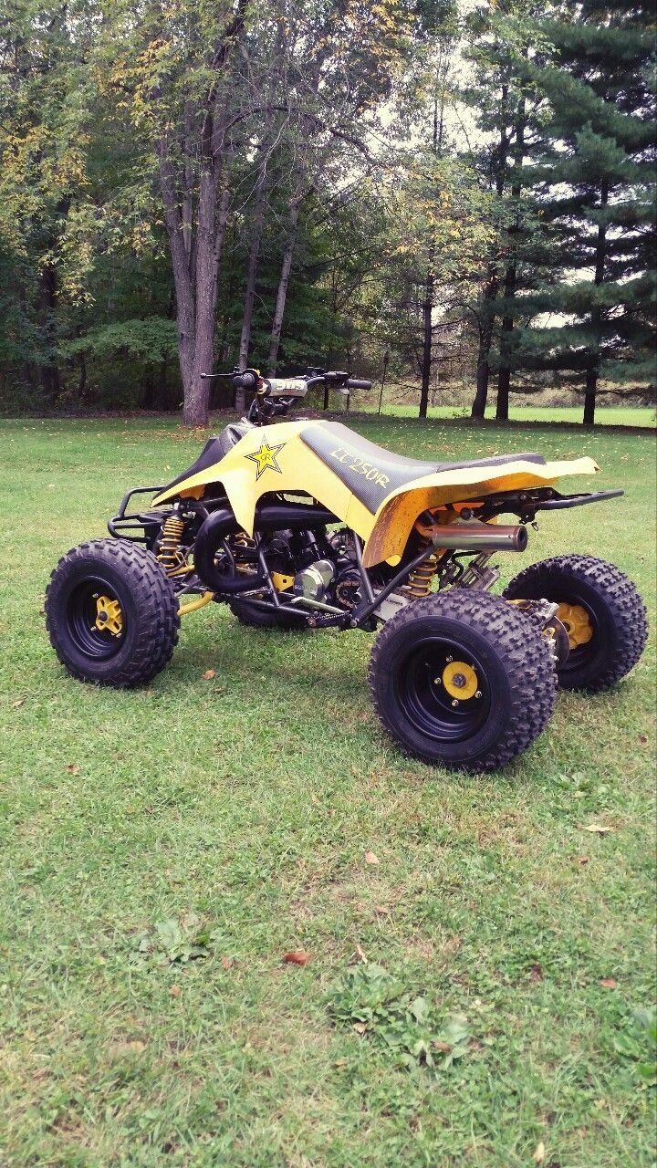 suzuki 500 quadzilla one mean machine i miss having this beast fourwheelers pinterest atv dirt bikes and motorcycle [ 720 x 1280 Pixel ]