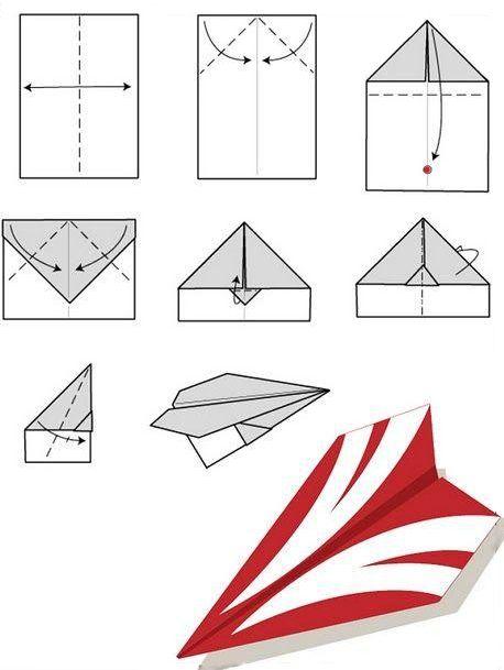 Мужчины как делать из бумаги самолет фото порно