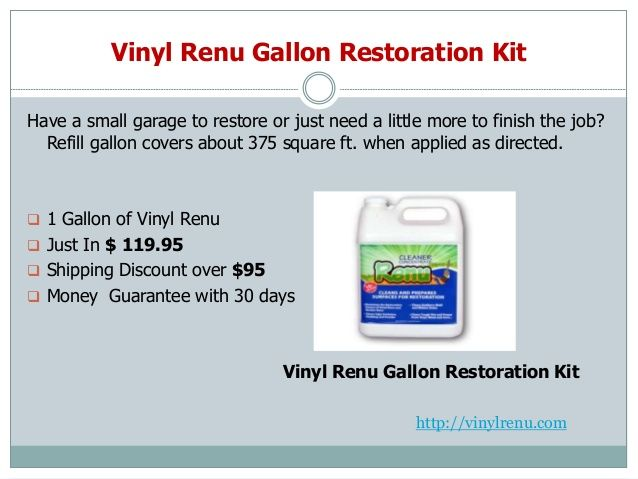 Best 10 Vinyl Renu Cleaner Images On Pinterest Restore