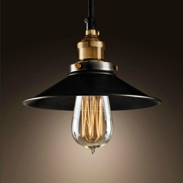 New DIY Painting Ceiling Light Vintage Chandelier Pendant Edison Lamp Fixture…
