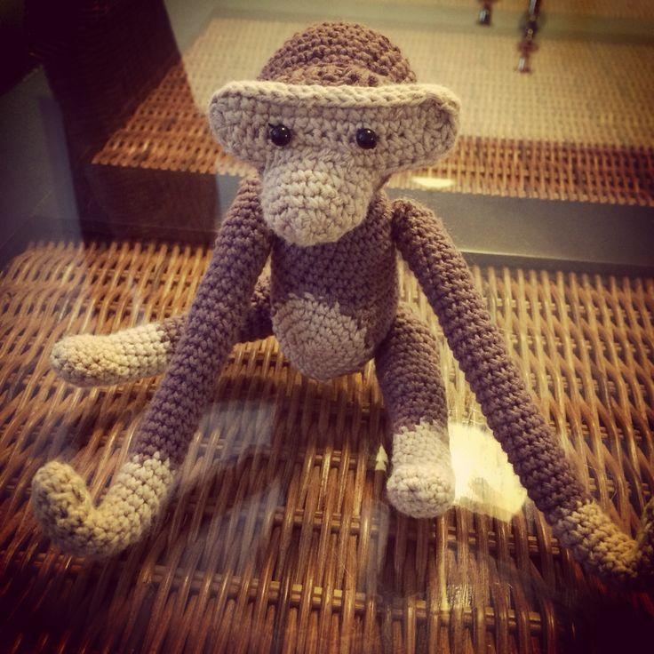 Monkey #kaybojesen #crochet #hækling