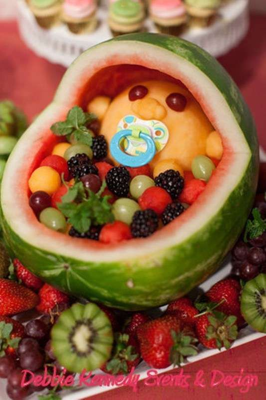 shower ideas shower en fruit salad shower fruit baby showerr baby
