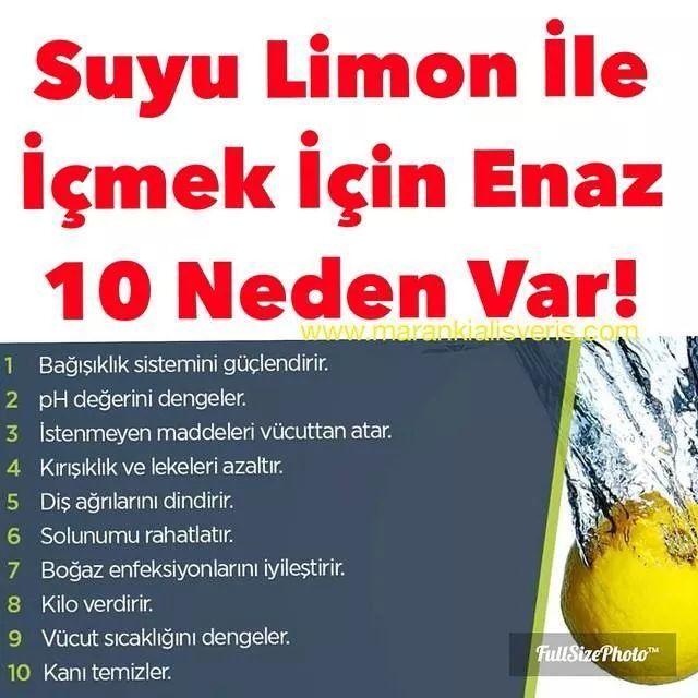 Limon ve su