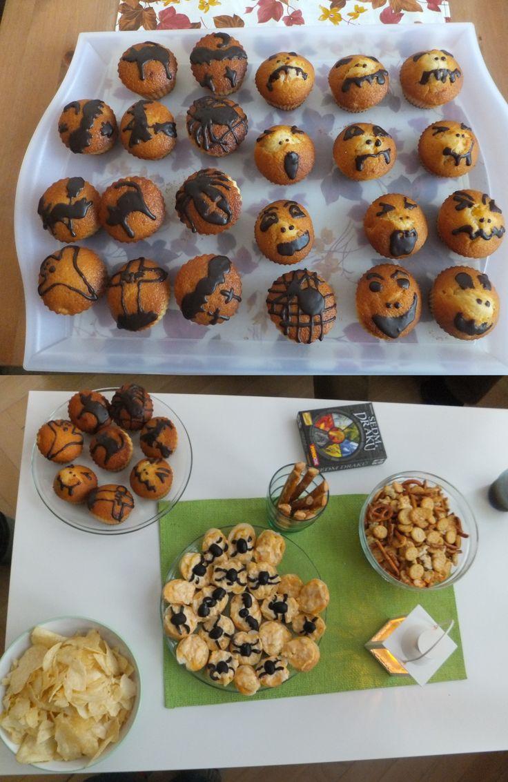 Halloweenské občerstvení...