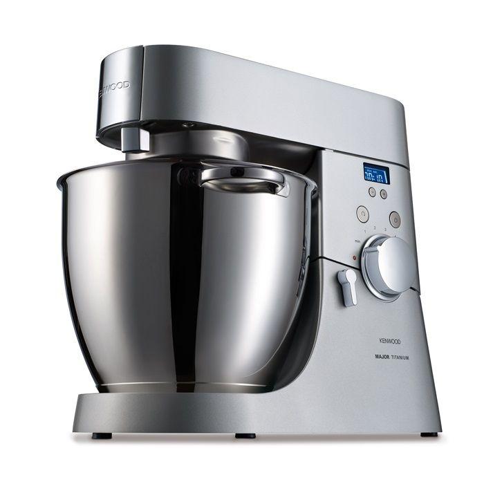 Kenwood Kmm075 Kokkenmaskine M Timer Inkl Glasblender Kitchen Stand Mixers Kitchen Machine Kenwood Major