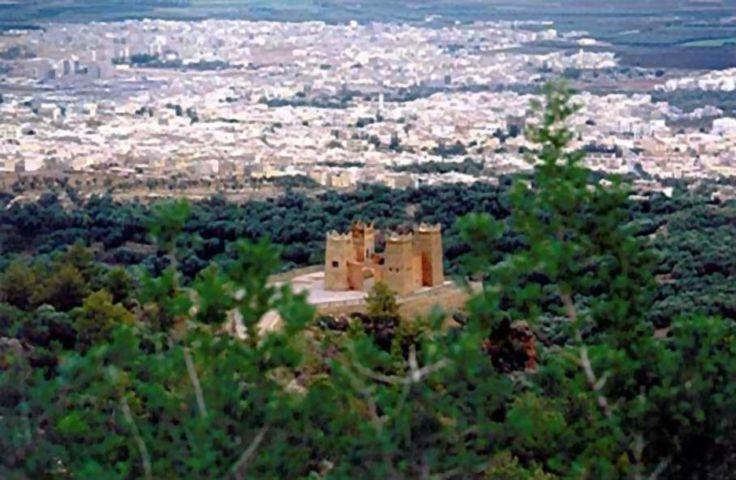 The kasbah of Beni Mellal, Morocco.