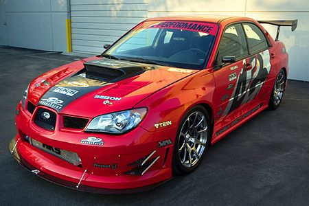 APR Performance SS/GT Widebody Aerodynamic Kit Subaru WRX & STi 2006-2007
