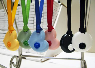 Chewable necklace or chewelry - the student I'm working with uses this. This helps her relax. Addresses the issues of inappropriate biting, chewing and teeth grinding.  Children find security and comfort holding on to this Kid Companions Chewelry.