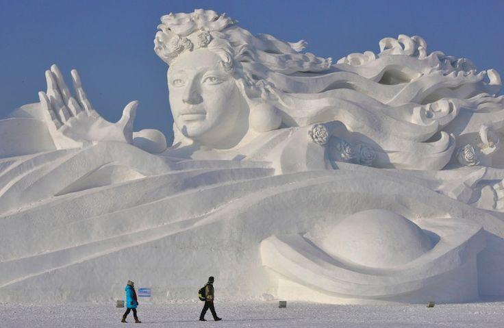 Talk about a winter wonderland!