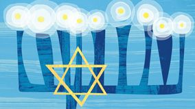 History of Hanukkah | Learn about the history of this joyous Jewish holiday and when it's celebrated. #Hallmark #HallmarkIdeas