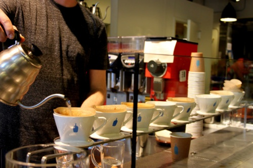 All times favorite.   Drip Coffee at Blue Bottle  Williamsburg, NYC April 2012